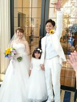 息子の結婚式♡