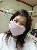 マスクを作る~(*^▽^*)